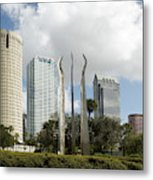 Tampa Skyline, 2007 Metal Print