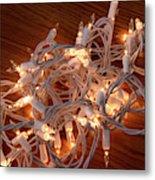 Tangled Lights Metal Print