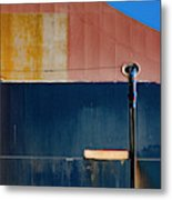 Tanker In Dry Dock Metal Print