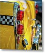 Taxi Tail Light, New York City, New Metal Print