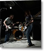 Teenage 14-16 Band Playing Instruments Metal Print