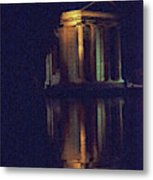 Temple Of Asclepius Metal Print
