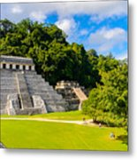 Temple Of The Inscriptions, Palenque Metal Print