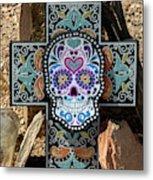 Terlingua Cross Metal Print