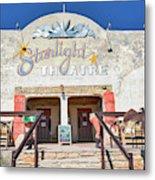 Terlingua Starlight Theatre2 Metal Print