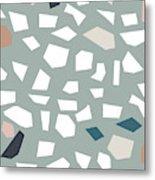 Terrazzo 1- Art By Linda Woods Metal Print