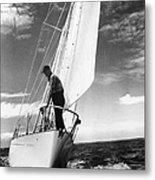Test Sail Metal Print