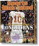 Texas Qb Vince Young, 2006 Rose Bowl Sports Illustrated Cover Metal Print