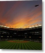 Texas Rangers V New York Yankees, Game 5 Metal Print