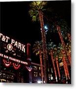 Texas Rangers V San Francisco Giants Metal Print