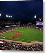 Texas Rangers V San Francisco Giants Metal Print