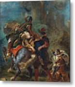 The Abduction Of Rebecca  Metal Print