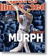 The Amazin Murph 2015 World Series Preview Issue Sports Illustrated Cover Metal Print