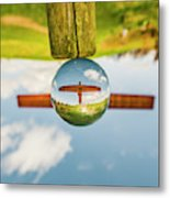 The Angel Of The North. Metal Print