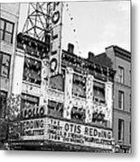 The Apollo Theater In Harlem. Otis Metal Print