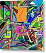 The Art Critic Metal Print