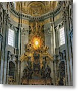 The Aspe Of St. Peter's Metal Print