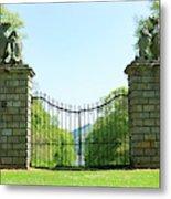 The Bear Gates At Traquair Metal Print