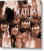 The Beatles Art  Metal Print