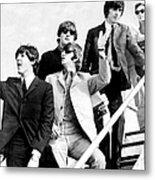 The Beatles, L. To R. Paul Mccartney Metal Print