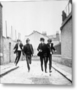 The Beatles Running In A Hard Days Night Metal Print
