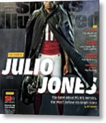 The Best Issue The Legend Of Julio Jones Sports Illustrated Cover Metal Print