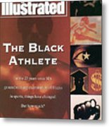 The Black Athlete In The 23 Years Since Sis Groundbreaking Sports Illustrated Cover Metal Print