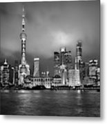 The Bund - Shanghai, China Metal Print