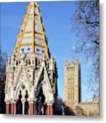 The Buxton Memorial Fountain London Metal Print