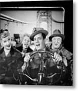 The Cast Of I Love Lucy Metal Print