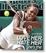The Championships - Wimbledon 2010 Day Twelve Sports Illustrated Cover Metal Print
