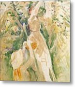 The Cherry Tree Study - 1891 - Musee Marmottan France Metal Print