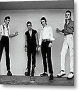 The Clash Portrait Session Metal Print