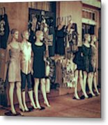 The Clones At The French Market Metal Print