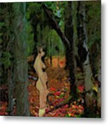 The Company Of Trees Metal Print