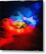 The Continuum Of Us - Breaking The Gridlock Of Hate Number 2  Metal Print