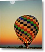 The Dawn of Light, 2017 Albuquerque International Balloon Festival Metal Print