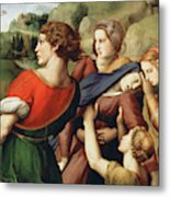 The Deposition, Detail, 1507 Metal Print