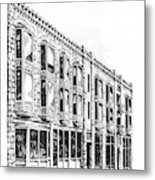 The Diamond Block Helena Montana Metal Print