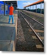 The Distance Of Solitude Metal Print
