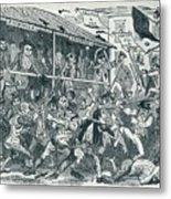 The Election At Eatanswill, C1836, 1925 Metal Print