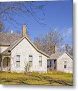 The Farmhouse, Washhouse And Garage Metal Print