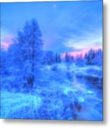 The First Snow 2 Metal Print