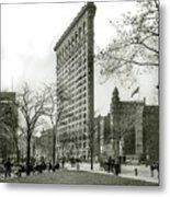 The Flatiron Building 1903 Metal Print