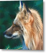 The Fox 235 - Painting Metal Print