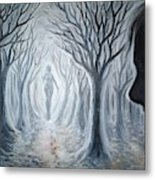 The Ghost Of A Loved One Metal Print
