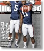 The Gifts That Kept On Giving Auburn Football Sports Illustrated Cover Metal Print