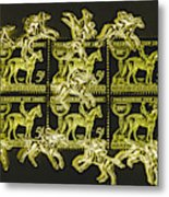 The Golden Race Metal Print