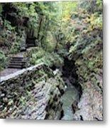 The Gorge Trail Metal Print