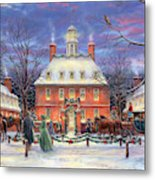 The Governor's Party Metal Print